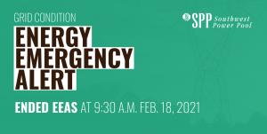 Energy Emergency Alert