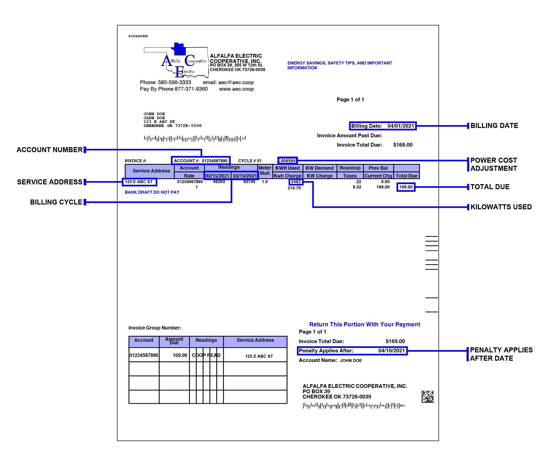 Understanding Your Bill 2021-01