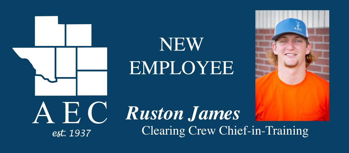 NEW EMPLOYEE - RUSTON JAMES (5)